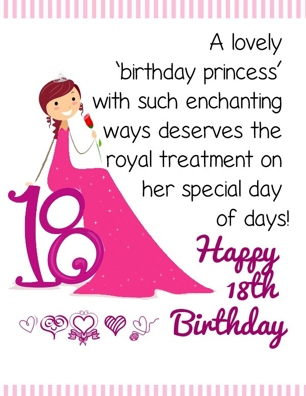 18th Birthday Wishes Messages And Greeting Cards 9 Happy Birthday