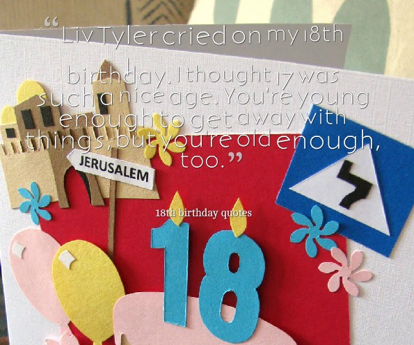 Quote 18th Birthday Greeting Cards 9 Happy Birthday