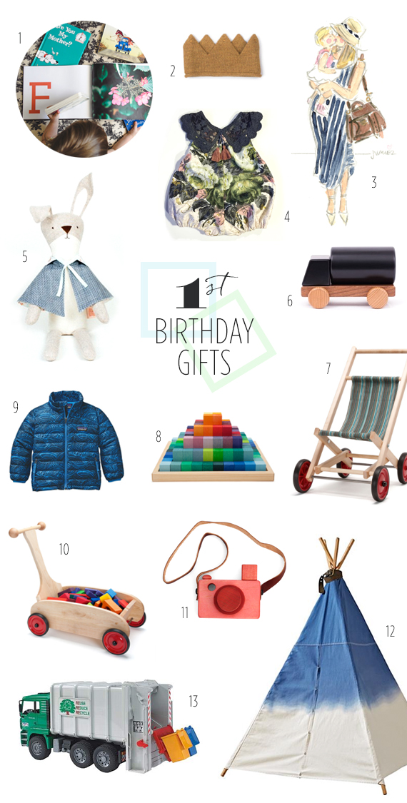 1st Birthday Gift Ideas For Your Kid