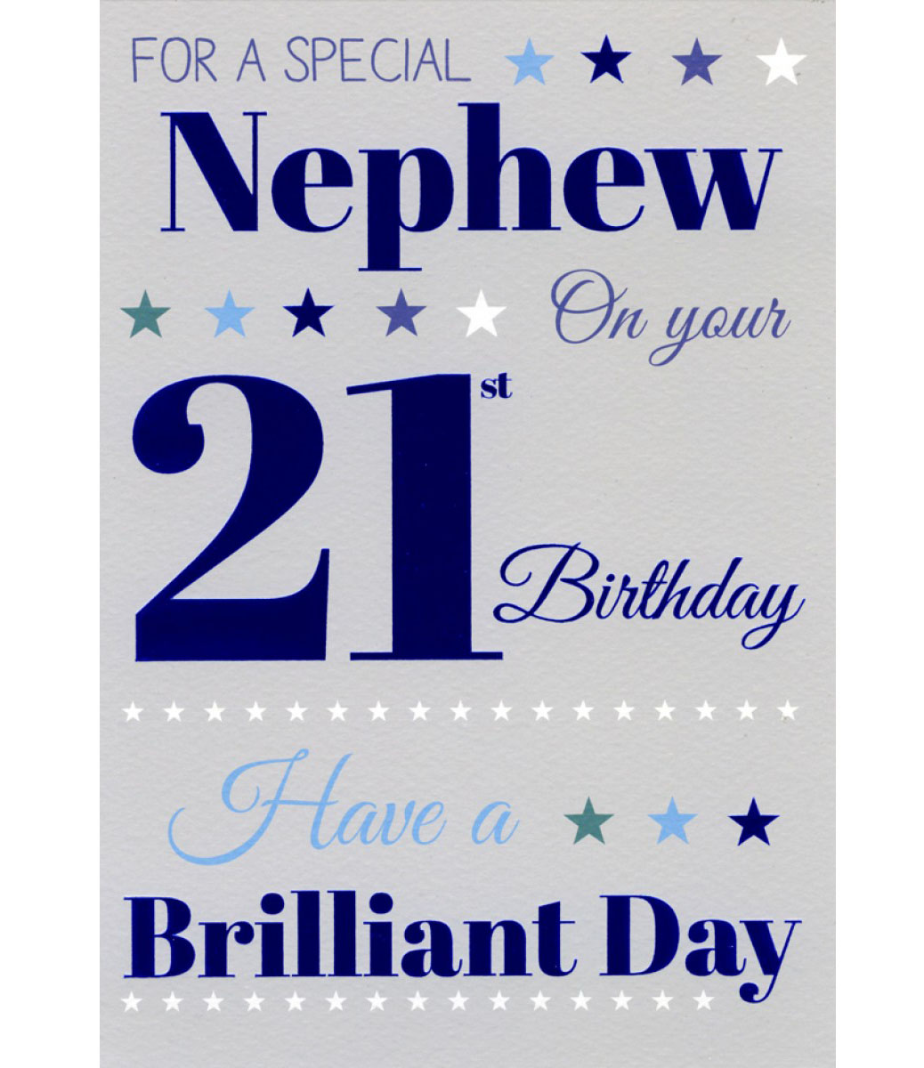 Happy 21st Birthday Wishes Messages And Cards 9 Happy Happy 18 Birthday Wishes For Nephew