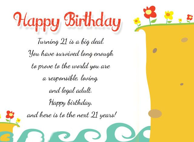 SON 21ST BIRTHDAY EXTRA LARGE CARD WITH LOVELY VERSES