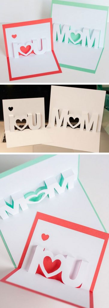 3D Birthday Cards Are Difficult To Make One But If You Really Love Your Mom And Want Show Her This Idea Will Be An Amazing Ever