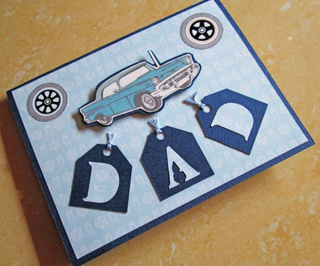 Cars And Birthday Cards For Dad