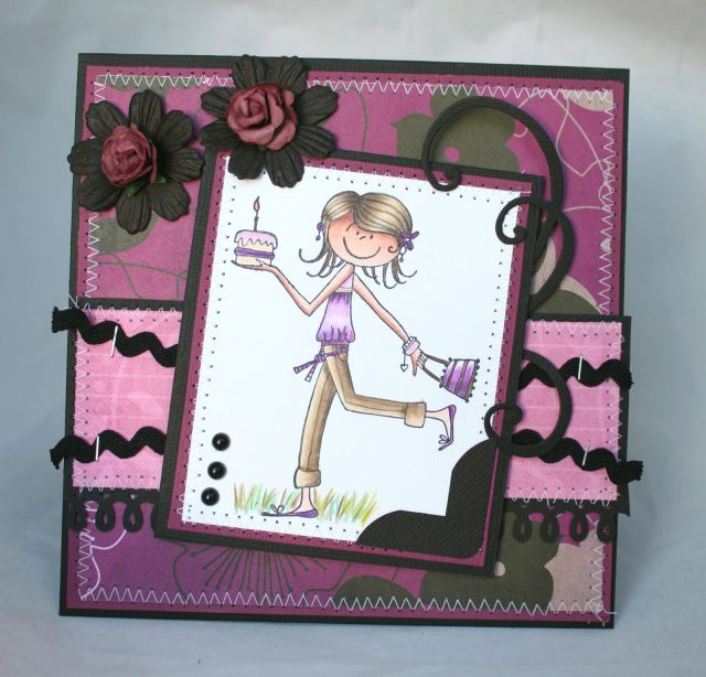 I Am In Love With This Card At First Sight And Think So Is The Other One Why Dont You Spend Time On Doing