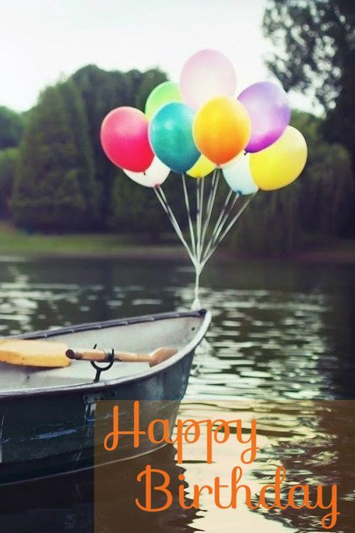 Happy Birthday Balloons Images And Lovely Scene