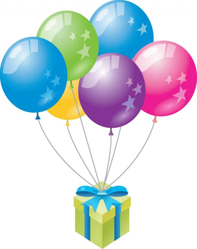 Balloons With A Lot Of Presents Around Can Be The Best Scenery Your Birthday Party
