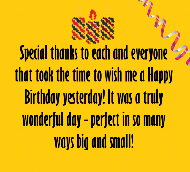 Best 30 Thank You For The Birthday Wishes 9 Happy Birthday Thank You For The Happy Birthday Wishes