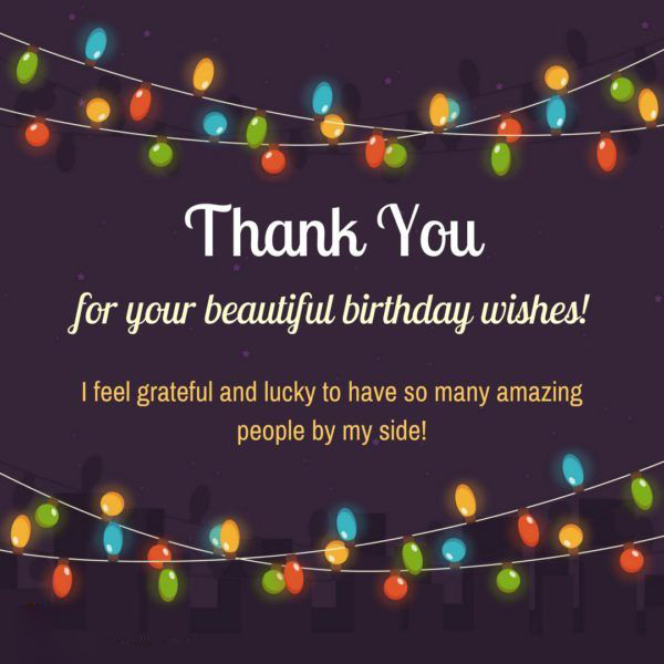 Best 30 thank you for the birthday wishes 9 happy birthday 7 amazing wishes with my friends m4hsunfo