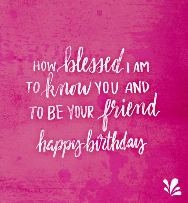 to be your friend happy birthday