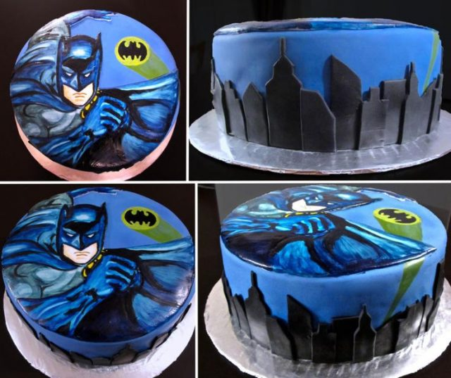 An Art Batman Cake Will Make Not Only Children But Also Adults Interested In So Why Dont You Buy One For Just A Familys Dinner It Warm Your House