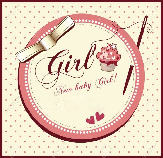 baby shower cards for girls - Baby Shower Cards