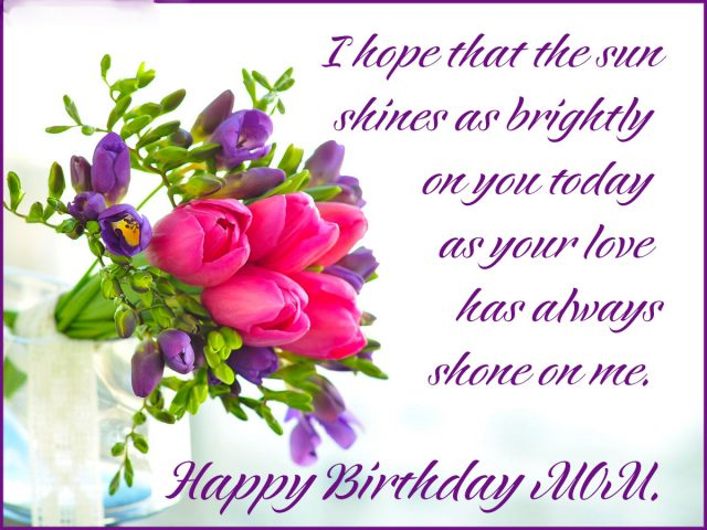 From Your Daughter With Love I Cant Be Side On Birthday Am So Sorry But Want You To Know That Always Miss Wish Lot Of