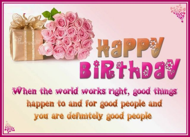 Best 30 birthday greetings to a friend 9 happy birthday wishing you a day filled with love happiness loads of presents and smiles happy birthday you wonderful person m4hsunfo