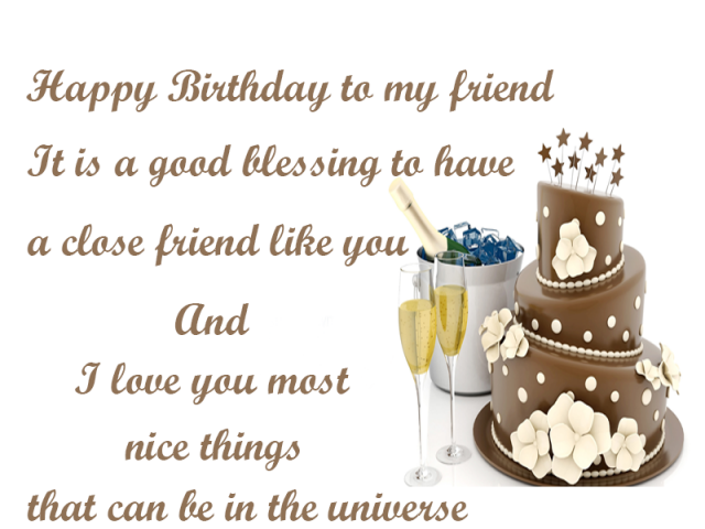Best 30 Birthday Greetings To A Friend