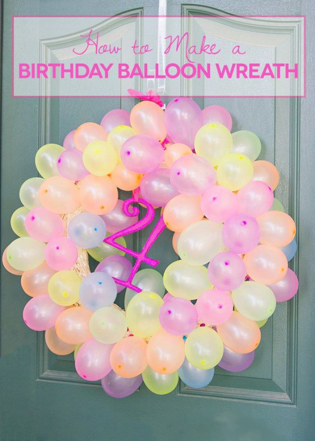 These Balloons Are A Creative Idea You Can Copy This To Decorate Your Birthday Or Relatives