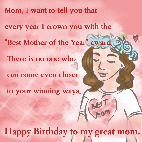 60 Unique Happy Birthday Wishes for Mom with Images - 9 ...