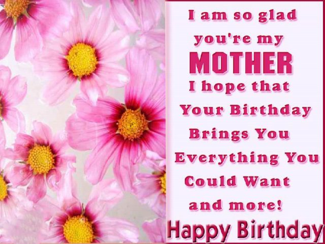 Mom Is The Greatest Woman Whole World Happy Birthday