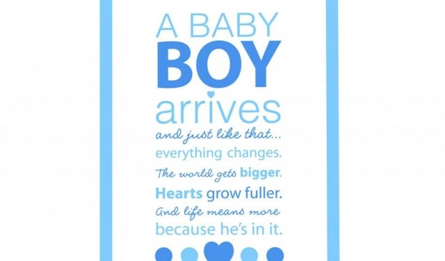 Baby Boy Quotes And Saying For New Born Baby 9 Happy Birthday