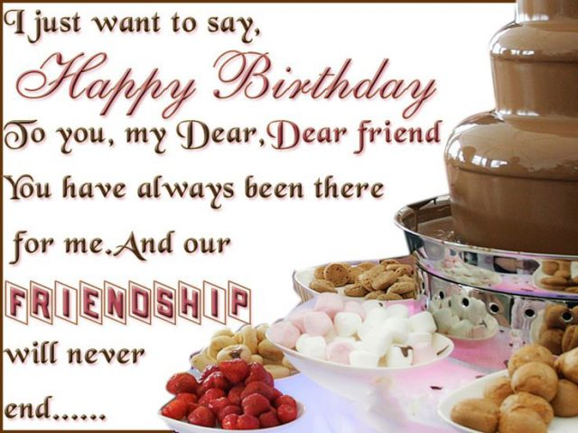 You Have Everything My Friend I Cant Wish Anything More But Will Always Pray For Happy Birthday