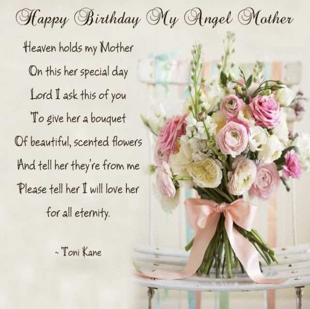 I Wish You A Lucky Happy Birthday Dear Mom