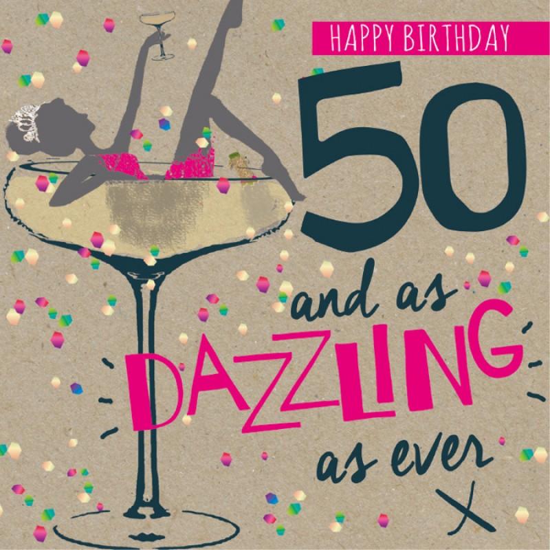 happy 50th birthday dazzling   9 happy birthday