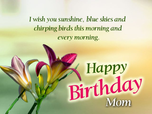 I Am The Luckiest Son In This World Happy Birthday My Pretty Mom