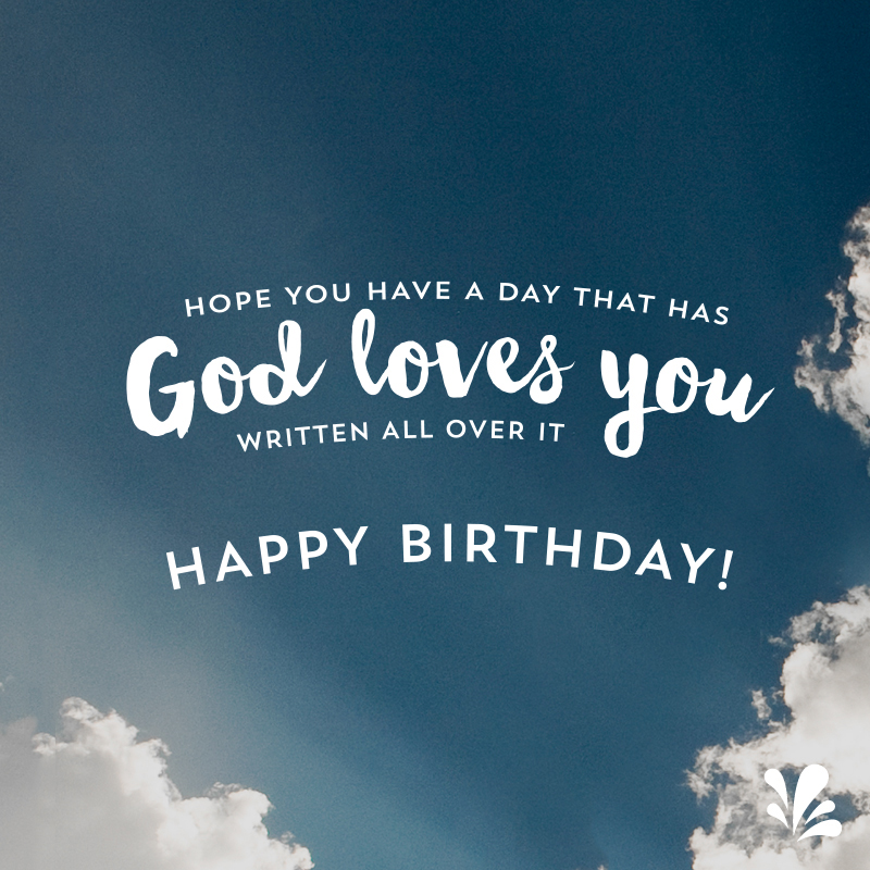 Birthday Wishes Religious Brother ~ Happy birthday prayers and blessings with sky
