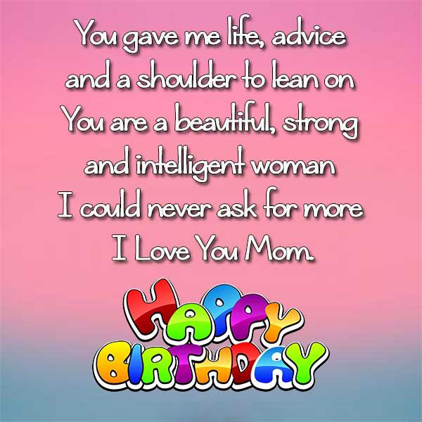 Sorry For Not Celebrating This Birthday With You Mom Wish A Happy