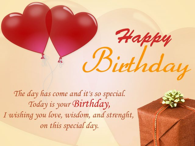 Wish You Best Of Lucks Send A Lot Hugs And Kisses Happy Birthday Darling