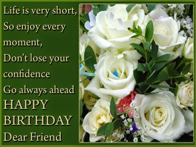I Want To Let You Know That Are A Really Special Person Wish The Greatest Things Happy Birthday Friend