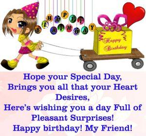 Birthday wishes for friend 9 happy birthday 56 happy birthday wishes for friend with images m4hsunfo