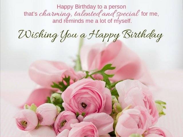 To The Person Who Has Always Been With Me In Every Path Of Life My Partner Difficulties And Love Happy Birthday I Am Glad Have You