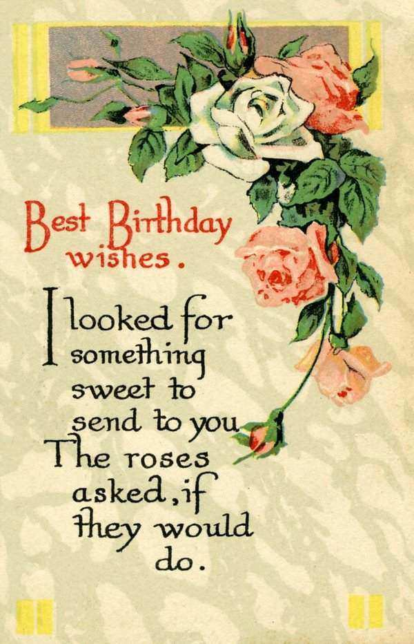 Best Birthday Wishes My Dear Friend