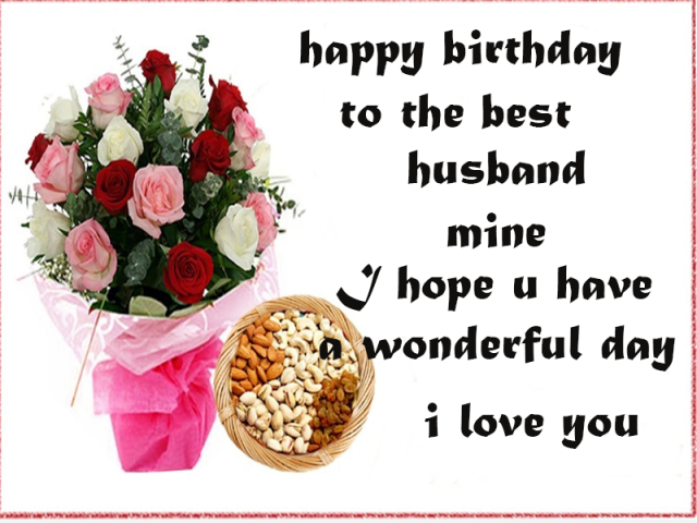 I Wish You Handsome And Successful With The New Age Happy Birthday My Husband