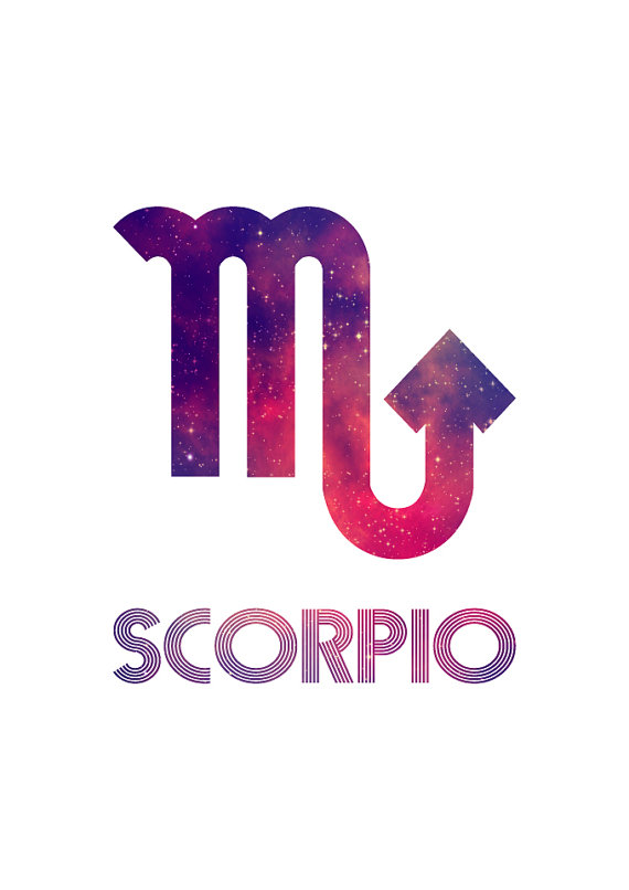 12 Birthday Zodiacs – SCORPION