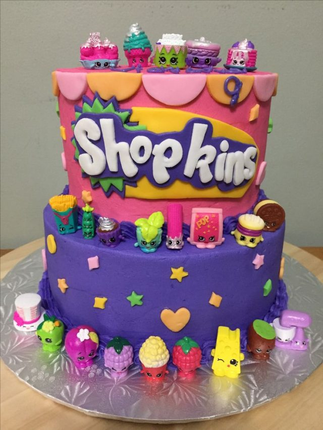 Amazing Shopkins Birthday Cake Ideas