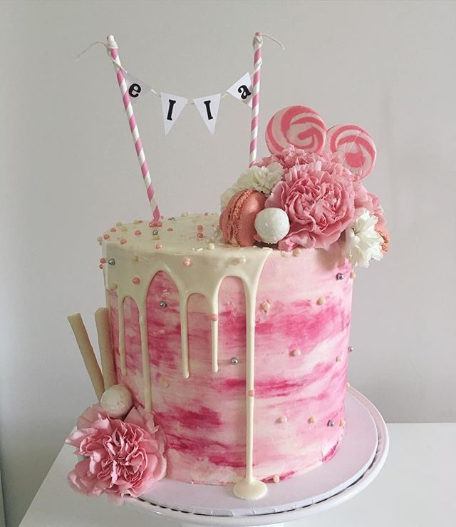 Amazing Happy Birthday Cake For Girls