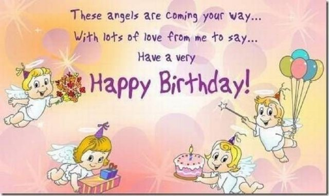 Angel Birthday Niece Wishes