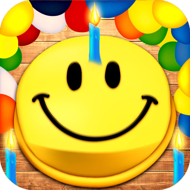 Animated 3D Birthday Emoji