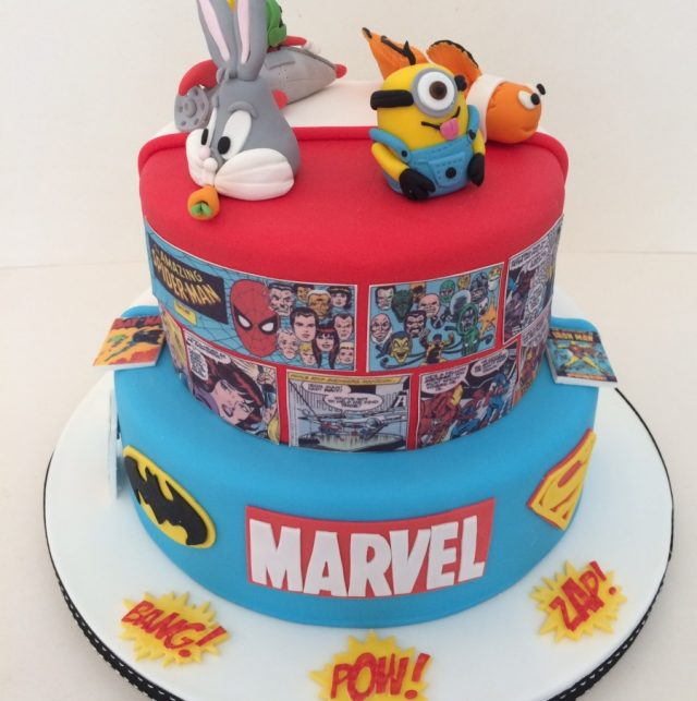 Animated birthday cake ideas