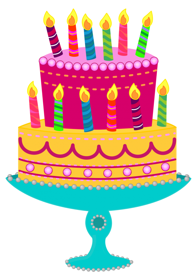 Awesome Birthday Cake Clipart