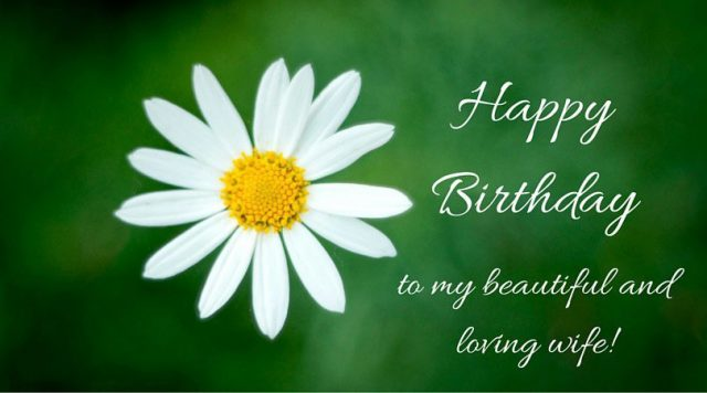 Beautiful Birthday Wishes for Wife with Images