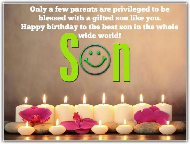 Best Birthday Wishes for Son with Images