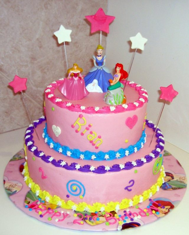 Birthday Cakes for Girls and Women – disney princess