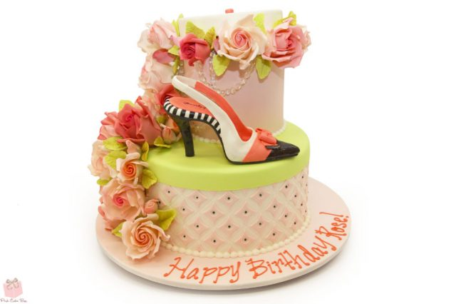 Birthday Cakes for Girls and Women – high heel