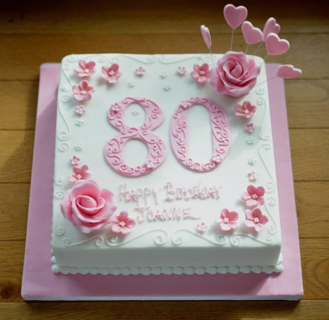 Birthday Cakes for Girls and Women – pink rose