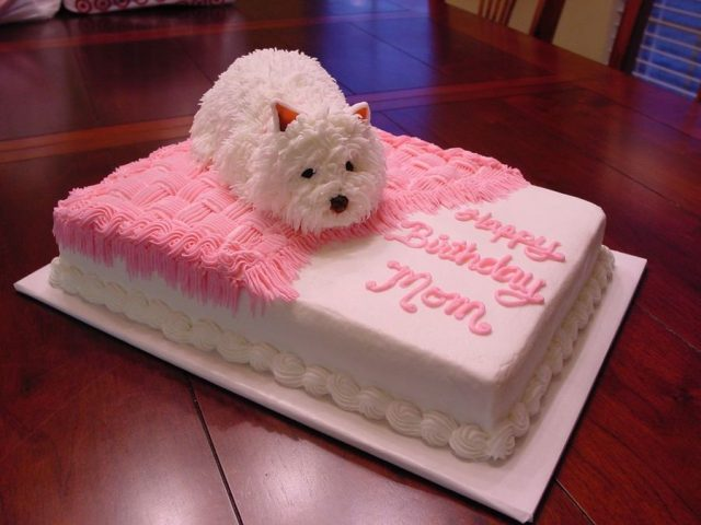 Birthday Cakes for Girls and Women – puppy