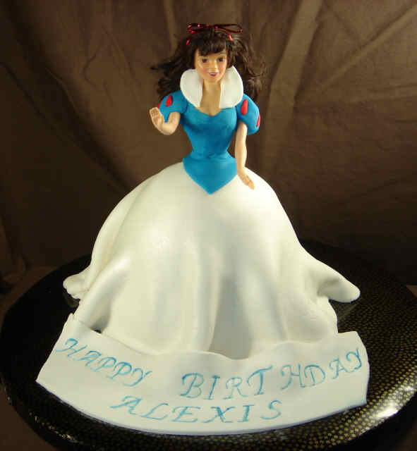 Birthday Cakes for Girls and Women – snowwhite princess
