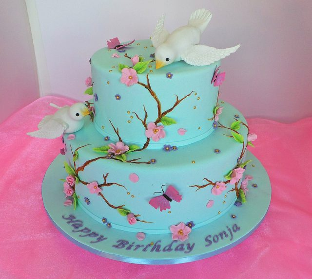 Birthday Cakes for Girls and Women – spring