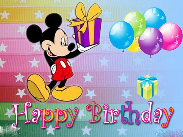 Birthday Ecards Image and mickey